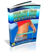 Your New Years Weight Loss Resolution Private Label Rights