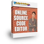 Online Source Code Editor Private Label Rights