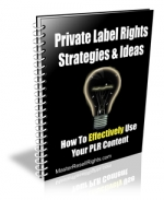 Private Label Rights Strategies & Ideas Private Label Rights