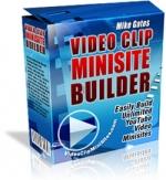 Video Clip Minisite Builder Private Label Rights