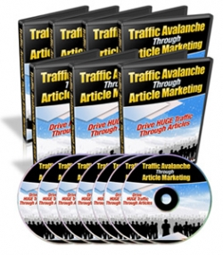 Traffic Avalanche Through Article Marketing