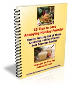 15 Tips To Lose Annoying Holiday Pounds Private Label Rights