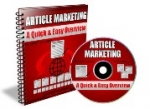 Article Marketing - A Quick & Easy Overview Private Label Rights
