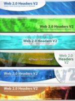 Web 2.0 Headers V2 Private Label Rights