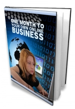 One Month To Your Own Online Business Private Label Rights
