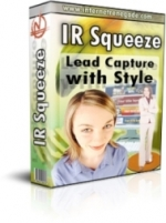 IR Squeeze - Lead Capture With Style Private Label Rights