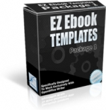 EZ Ebook Templates Package 1 Private Label Rights