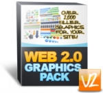 Web 2.0 Graphics Pack V2 Private Label Rights