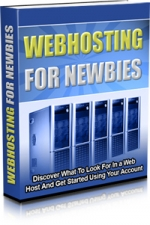 Webhosting For Newbies Private Label Rights