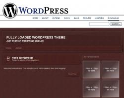 Wordpress Theme - Leather