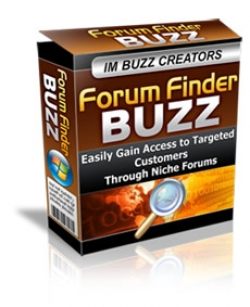 Forum Finder Buzz
