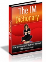 The IM Dictionary Private Label Rights