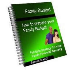 Family Budget - How To Prepare Your Family Budget