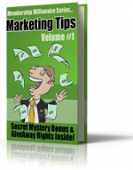 Membership Millionaire Series Marketing Tips Volume #1 Private Label Rights