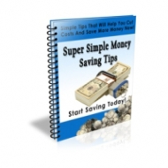Super Simple Money Saving Tips Private Label Rights