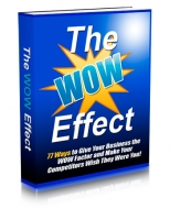 The WOW Effect Private Label Rights
