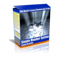 Simple Member System Private Label Rights