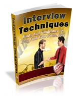 Interview Techniques Private Label Rights