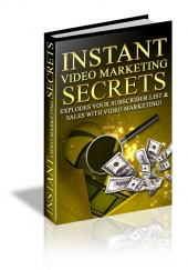 Instant Video Marketing Secrets Private Label Rights