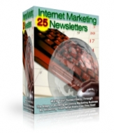 24 Internet Marketing Newsletters Private Label Rights