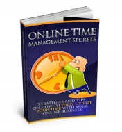 Online Time Management Private Label Rights