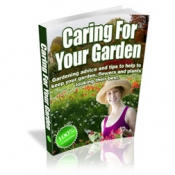 Caring For Your Garden Private Label Rights