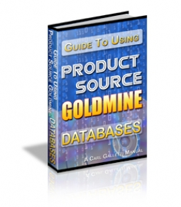 18 Product Source Goldmine Databases