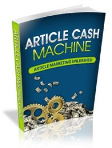 Article Cash Machine