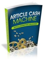 Article Cash Machine Private Label Rights