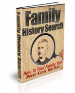Family History Search Private Label Rights