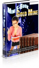 Mini E-Book Gold Mine Private Label Rights