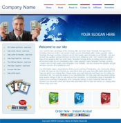 5 HTML Templates & 3 Blog Themes Private Label Rights