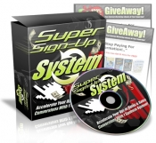 Super Sign-Up System Private Label Rights