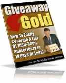 Giveaway Gold Private Label Rights