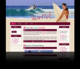 Surfing WP Theme Private Label Rights