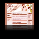 Makeup WP Theme Private Label Rights