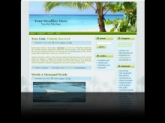Saona Island WP Theme Private Label Rights