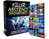 Killer Abstract Backgrounds V2 Private Label Rights