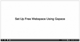 Set Up Free Webspace Using Gspace Private Label Rights