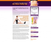 Belly Fat Landing Page Template Private Label Rights