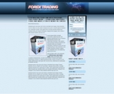 Forex Landing Page Template Private Label Rights