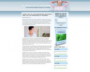 Haemorrhoids Landing Page Template