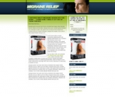 Migraine Landing Page Template Private Label Rights