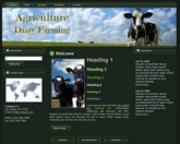 Dairy Farming WP Theme Private Label Rights