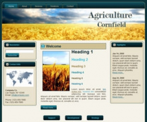Cornfield WP Theme