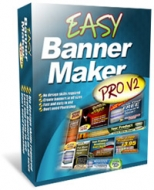 Easy Banner Maker Pro V2 Private Label Rights