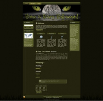 Scary Halloween WP Theme