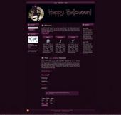 Halloween Witch WP Theme Private Label Rights
