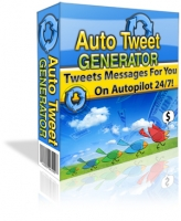 Auto Tweet Generator Private Label Rights