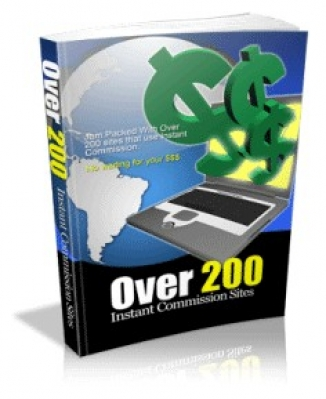 Over 200 Instant Commission Sites